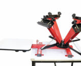 4 color 4 station screen printing press in india
