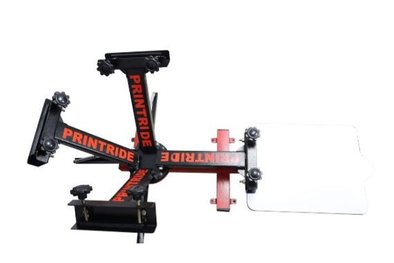 4 Color 1 Station Heavy Duty Screen Printing Machine3 1