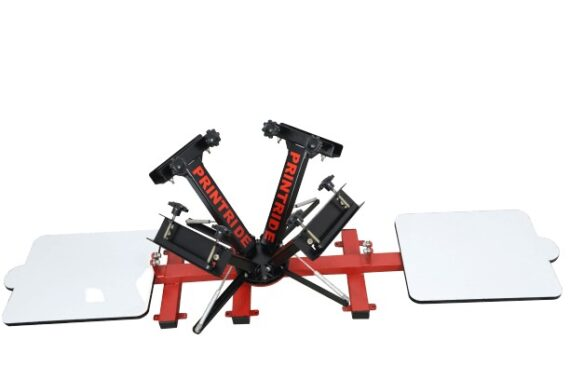 4 Color 2 Station Heavy Duty Screen Printing Machine 1 1