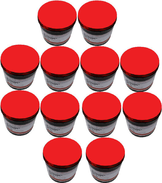 Bright Red Pack Of 12 4