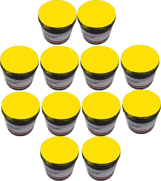 Golden Yellow Pack Of 12 1