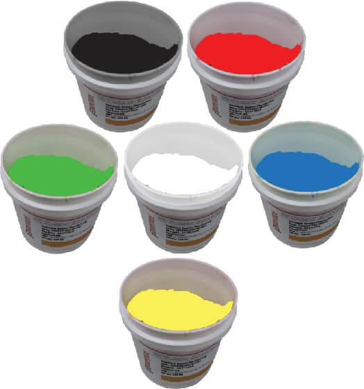 Most Use Plastisol Ink